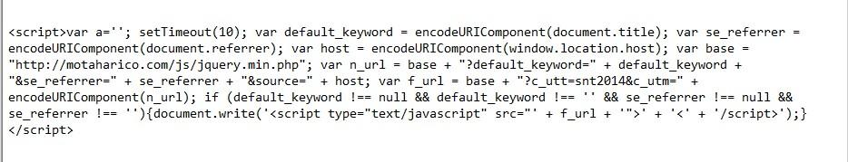 javascript-redirect-malware